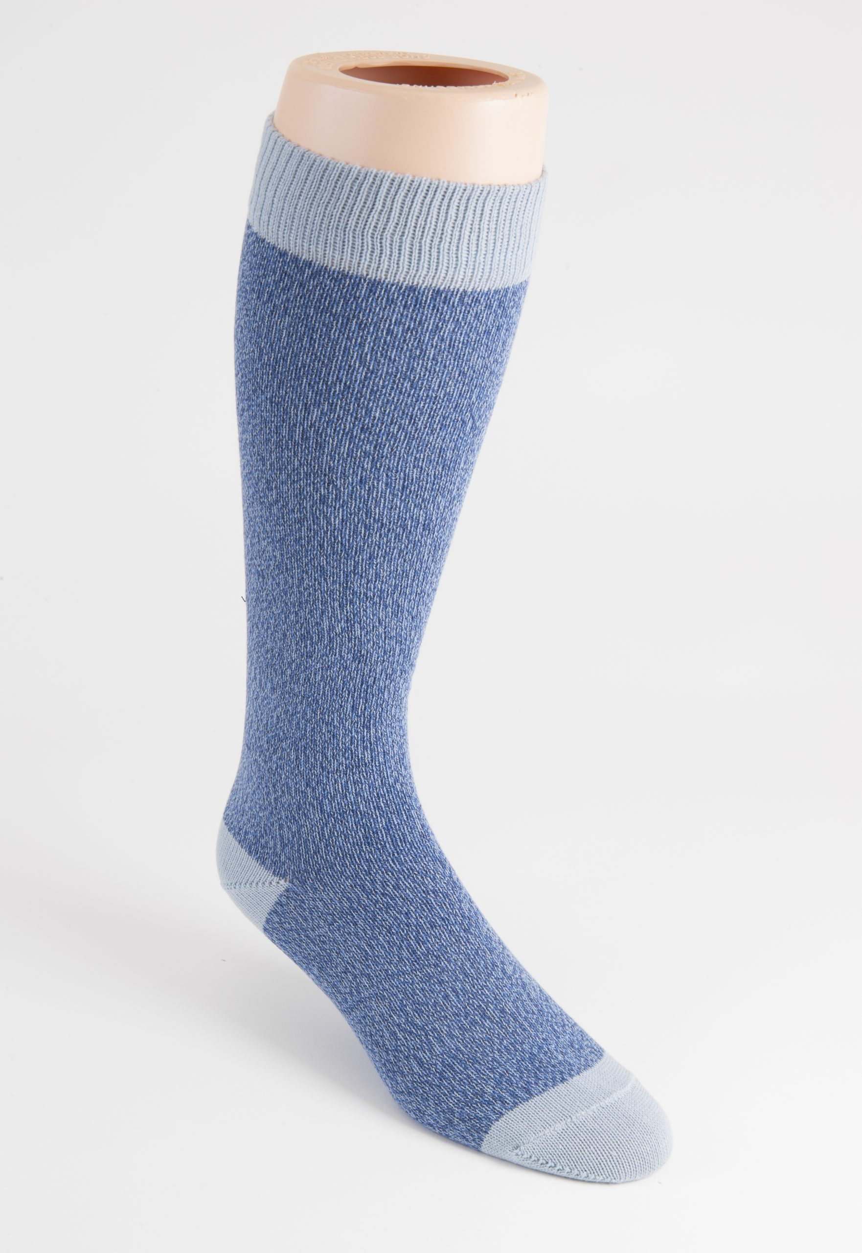mens long cotton marl socks