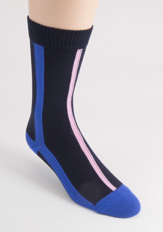 mens vertical stripe cotton socks